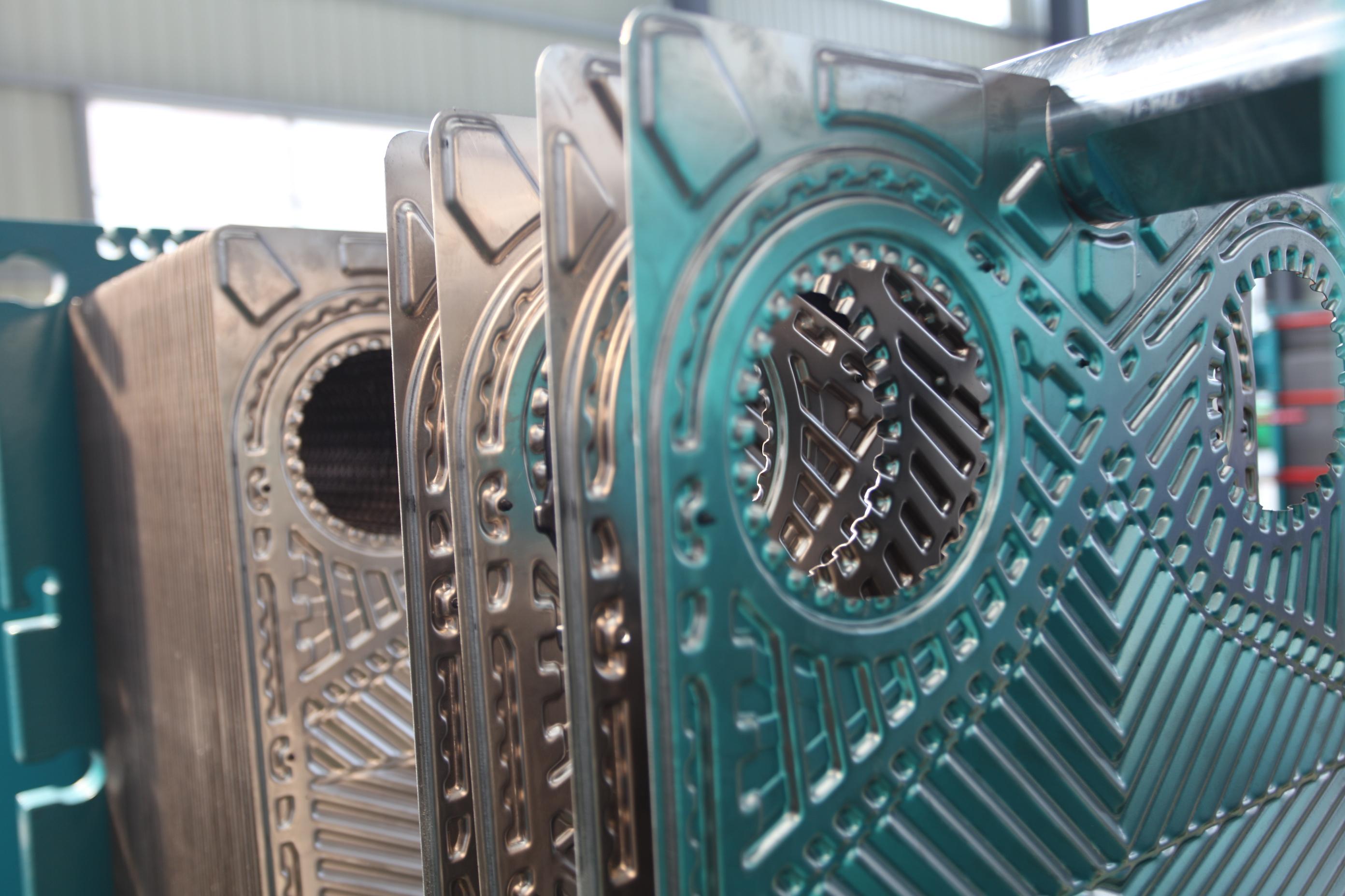 可拆式换热器换热器板片