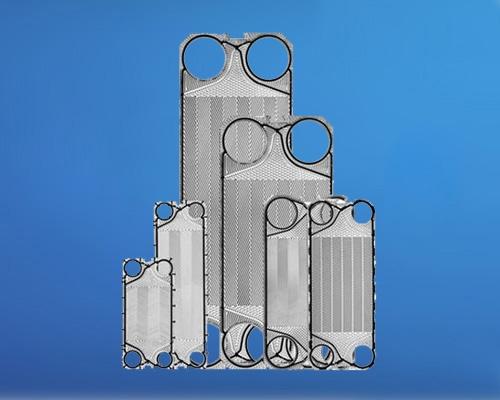 激光半焊接板式换热器