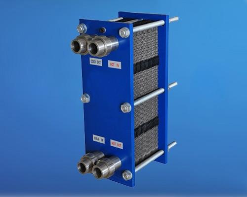 全焊框板式换热器